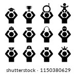 collection of avatar icons... | Shutterstock .eps vector #1150380629