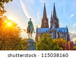 View On Cologne Cathedral At...