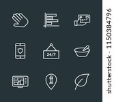 modern flat simple vector icon... | Shutterstock .eps vector #1150384796