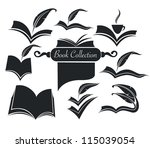 Vector Collection Of Old Books...