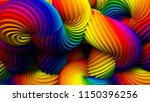 Abstract Rainbow Pastel Shape....