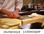 professional and experienced... | Shutterstock . vector #1150403609