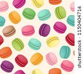 vector seamless background with ... | Shutterstock .eps vector #1150404716