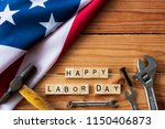 usa labor day concept  first... | Shutterstock . vector #1150406873