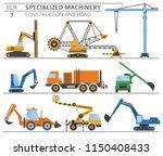 special industrial construction ... | Shutterstock .eps vector #1150408433
