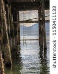 pier in alaska | Shutterstock . vector #1150411133