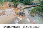 sanamxay district  attapeu... | Shutterstock . vector #1150413860