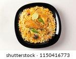 top shot of delicious spicy... | Shutterstock . vector #1150416773