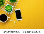 table top view aerial image of... | Shutterstock . vector #1150418276