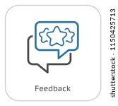 feedback line icon. client...