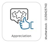 appreciation line icon. client...