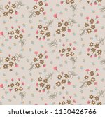 cute floral pattern in the... | Shutterstock .eps vector #1150426766