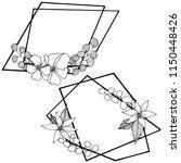 vector diamond rock jewelry...   Shutterstock .eps vector #1150448426