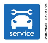 car repair service sign for... | Shutterstock .eps vector #1150451726