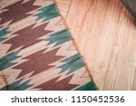 laminate parquete floor. light... | Shutterstock . vector #1150452536