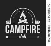 camping outdoor logo set....   Shutterstock .eps vector #1150455140