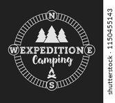 camping outdoor logo set....   Shutterstock .eps vector #1150455143