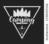 camping outdoor logo set....   Shutterstock .eps vector #1150455146