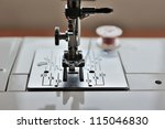 close up sewing machine | Shutterstock . vector #115046830