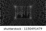 abstract illustration. vector... | Shutterstock .eps vector #1150491479