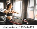 beautiful caucasian young woman ... | Shutterstock . vector #1150494479