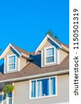a perfect neighborhood. houses... | Shutterstock . vector #1150501319
