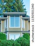 a perfect neighborhood. houses... | Shutterstock . vector #1150501340