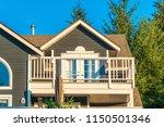 a perfect neighborhood. houses... | Shutterstock . vector #1150501346