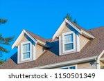 a perfect neighborhood. houses... | Shutterstock . vector #1150501349