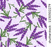 seamless pattern with blooming... | Shutterstock .eps vector #1150502279