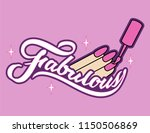 fabulous nails icon | Shutterstock .eps vector #1150506869