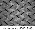 the geometric pattern with wavy ... | Shutterstock .eps vector #1150517663