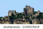 castle of the village of beynac ... | Shutterstock . vector #1150519619