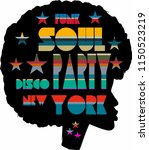 funk soul graphic design vector ... | Shutterstock .eps vector #1150523219