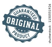 guaranteed original product... | Shutterstock .eps vector #1150551926