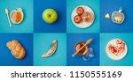 jewish holiday rosh hashanah... | Shutterstock . vector #1150555169