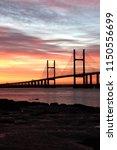Severn Bridge Crossing Between...