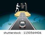 artificial intelligence... | Shutterstock .eps vector #1150564406