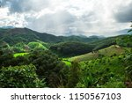 landscape  view on the top of a ... | Shutterstock . vector #1150567103