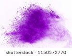 abstract purple powder... | Shutterstock . vector #1150572770