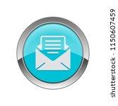 news letter   app icon | Shutterstock .eps vector #1150607459