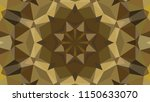 geometric design  mosaic of a... | Shutterstock .eps vector #1150633070