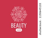 fashion shop logo template... | Shutterstock .eps vector #1150645133