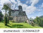 bran castle  also known as the... | Shutterstock . vector #1150646219
