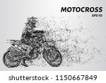 motorcyclists at the start of... | Shutterstock .eps vector #1150667849