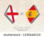 england vs spain  league a ... | Shutterstock .eps vector #1150668110