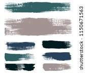 paint line grunge backgrounds.... | Shutterstock .eps vector #1150671563