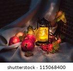 Autumn Still Life With Apples...