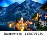 hallstatt  austria during...   Shutterstock . vector #1150705250