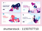 set of web page design... | Shutterstock .eps vector #1150707710